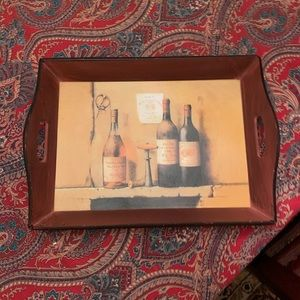 Other - Wood wine serving tray